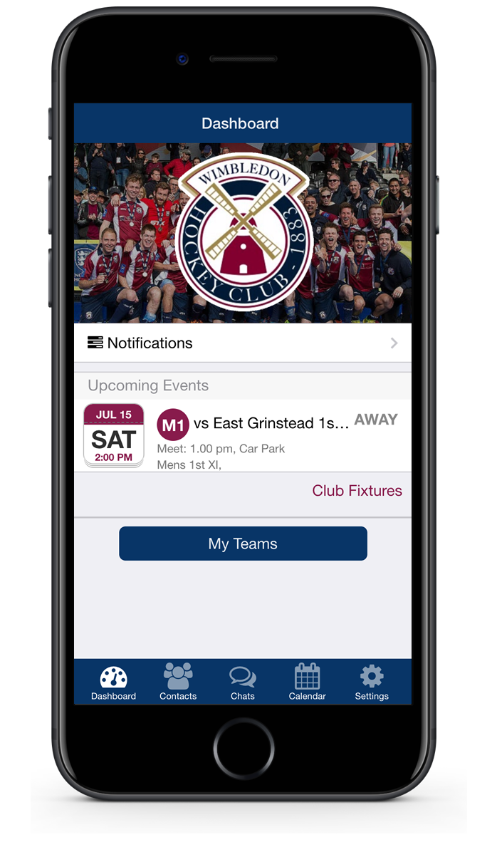 brand your club app to improve team management